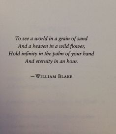Wisdom Quotes : QUOTATION - Image : As the quote says - Description William Blake via: Modern Girls and Old Fashioned Men. Motivacional Quotes, Quotable Quotes, Poetry Quotes, Book Quotes, Great Quotes, Words Quotes, Quotes To Live By, Inspirational Quotes, Sayings