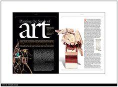 Rice Magazine by Chuck Thurmon, Houston, TX •   #editorial #editorialdesign #magazines #magazinedesign #layouts #print #printdesign
