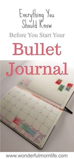 Bullet Journal Beginner's Guide
