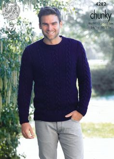 Mens Sweater and Sli