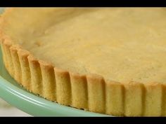 Sweet Pastry Crust, also known as Pate Sucree, is a rich and sweet pastry with a crisp cookie-like texture. From With Demo Video Easy Pie Recipes, Pastry Recipes, Tart Recipes, Apple Recipes, Baking Recipes, Dessert Recipes, Desserts, Sweet Pastry Crust Recipe, Tart Crust Recipe