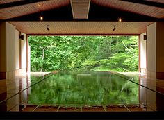 japanese spa- would be a sweet indoor pool!