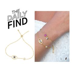 """""""The Daily Find: APM Monaco Bracelet"""" by polyvore-editorial ❤ liked on Polyvore featuring DailyFind"""