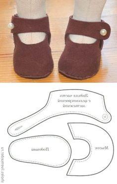 Doll pattern felt baby shoes 57 Ideas for 2019 Baby Doll Shoes, Felt Baby Shoes, Baby Doll Clothes, Diy Dolls Shoes, Doll Shoe Patterns, Baby Shoes Pattern, Fabric Doll Pattern, Baby Moccasin Pattern, Doll Patterns Free