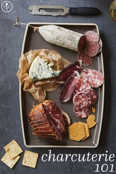 Charcuterie is popping up everywhere, from food blogs to five-star restaurants to your local grocery store. And while many people think of it as a high-class appetizer you can only get at a restaurant, it's easier to do at home than you might think. All you need are a few tips, the right board, and hungry friends.