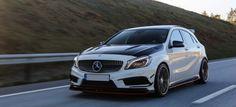 Mein schönstes Geschenk: Mercedes A250 Sport: Norwegische A-Klasse mit der fernöstlichen Extraportion Sport