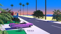 Actualize your musical creations with the cutting-edge cross-media solutions of Aesthetics Corp. 80s Aesthetic, Postcard Art, Retro Waves, Wave Art, Cyberpunk Art, Laptop Wallpaper, California Dreamin', Retro Art, Vaporwave