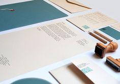 Grafous :: Diseño Gráfico Sostenible :: Papelería con sellos :: Tatabi.es