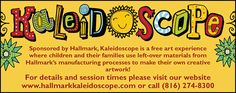 Kaleidoscope at Crown Center is a great way to keep kids active and creative over the winter break!