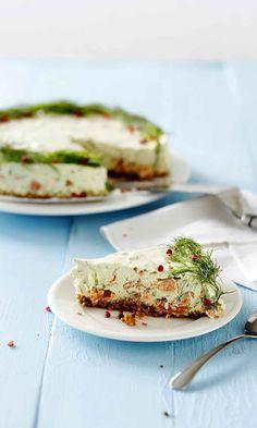 Herkullinen lohi-avokadokakku – katso resepti! | Meillä kotona