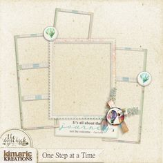 kimeric kreations: A One Step at a Time multiphoto frame cluster to share tonight!