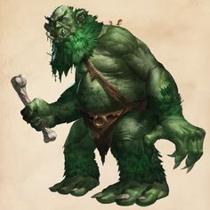 Fantastic Beasts Glossary– Forest Troll
