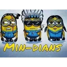 """Aahhaaa.. ""Min-dians"" Aahhaa.. Love this because I love the Minions.. #Minion #Indian #MinDians #Aaahhaa #Funny #..."""