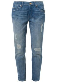 JOSIE - Jeansy Straight leg - niebieski