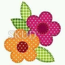 New Aplicaciones Patchwork Flores Ideas 69 Ideas Embroidery Flowers Pattern, Simple Embroidery, Flower Patterns, Quilt Patterns, Flower Ideas, Applique Quilts, Embroidery Applique, Embroidery Stitches, Machine Embroidery