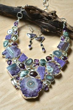 Multi-stone Necklace by elementality