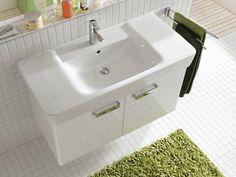 Combinaison de lavabo et sous-meuble de lavabo de la collection Renova Nr. 1 Plan ► [http://www.keramag.be/fr/collections-pour-salle-de-bains/renova-nr-1-plan?Page=9] ••• Wastafel en onderkast voor wastafel uit de #RenovaNr1Plan collectie ► [http://www.keramag.be/nl/badkamerseries/renova-nr-1-plan?Page=9]