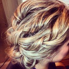 Wedding hair (bridesmaid?)