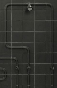 Cover-Tiles - What a great idea! Would love to see our murals printed on these! Water Tap, Water Pipes, Tile Covers, Bathroom Flooring, Shower Heads, Kitchen And Bath, Architecture Details, Modern Contemporary, Creative Design