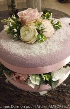 macaron rose poudré de fleurs atelier amborella par corinne Darmon (1)