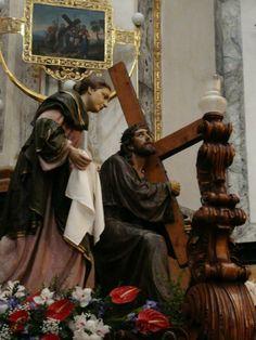 Conjunto de imágenes de Cristo y la Verónica. José Ortells López - Villarreal (España)