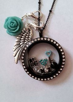 Look at the little tiny camera! So cool!! {Matte Black Locket w/ Crystals} My party ends tomorrow...order yours today! https://www.facebook.com/events/1407153449498297/1409578272589148/?notif_t=plan_mall_activity