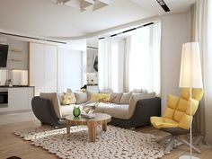 34 Fabulous Scandinavian Living Room Design Ideas , You will observe the way the room will get bigger. As living room is regarded as the most important and stunning place of a home, you should worry abo. Living Room Flooring, Living Room Carpet, Rugs In Living Room, Living Room Designs, Living Room Decor, Simple Living Room, Beautiful Living Rooms, Small Living Rooms, Scandinavian Style