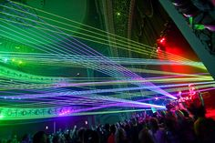 Did you know that it is incredibly easy to create your own laser light shows... Turn an ordinary event into one people will remember and tell their friends about... Use lasers! Perfect for DJ's, nightclubs, bars, concerts, sporting events and more... Email us (contact@pangolin.com) and we can show you how to get started.