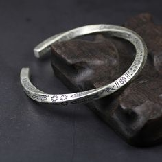 Silver Bangle Bracelets, Bracelets For Men, Bracelet Men, Couple Bracelets, Viking Bracelet, Stackable Bracelets, Men Necklace, Silver Man, Silver Cuff