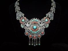 Matl Matilde Poulat Mexican Silver Necklace