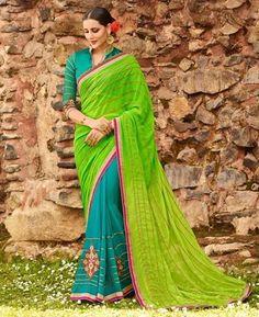 #hey @a1designerwear . Item code: RKL16176 . Buy Graceful Multi Silk #Saree #onlineshopping with #worldwideshipping at  https://www.a1designerwear.com/graceful-multi-silk-sarees-3   . #a1designerwear #a1designerwear . #instashop #worldwide #thankyou