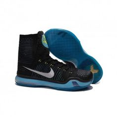 The cheap Authentic Nike Kobe X Elite  Commander  Black-Metallic Silver-Blue  Lagoon-Volt Shoes factory store are awesome pair of shoes but it seems the  ... bca608ffad