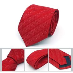 Classic Striped Tie - 20 Variations