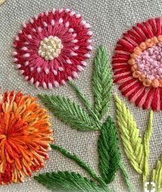 Brazilian Embroidery Patterns Embroidery Stitches In Jamaica Embroidery Floss Holder Brazilian Embroidery Stitches, Hand Embroidery Videos, Hand Embroidery Flowers, Embroidery Stitches Tutorial, Simple Embroidery, Crewel Embroidery, Hand Embroidery Designs, Embroidery Kits, Ribbon Embroidery