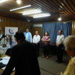 La Virgen del Valle inundó con su gracia el Tribunal de Cuentas, Radio Nacional y EC Sapem