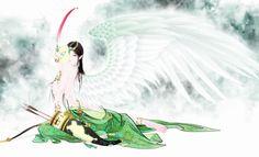 [ FLIPER 專欄文章 ]「九州」張旺 — 鬼才畫師,當中國國畫撞見數位藝術 | Moumu 矛木