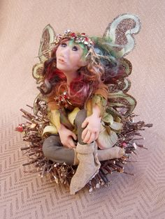 Winter Fairy - Sculpey Polymer Clay
