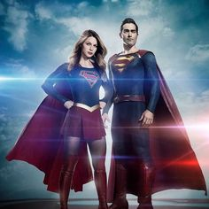 Now that's a #DynamicDuo lol!!! #Supergirl and Superman from the upcoming season of Supergirl. Damn. Thoughts? #DC #TheCW #Kryptonians #HouseOfEl