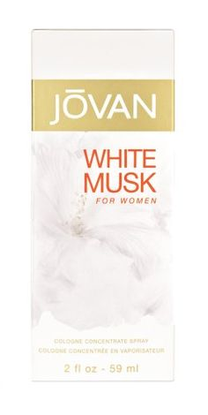 White Musk for Women Cologne Spray by Jovan, 2 Fluid Ounce $6.29