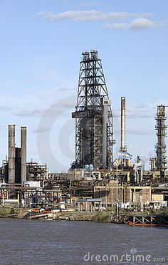 Chemical plant in west africa