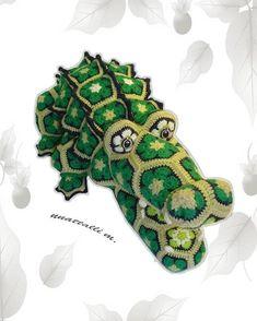 Ravelry: African flower Cro Kid-Dill by nnattalli m.