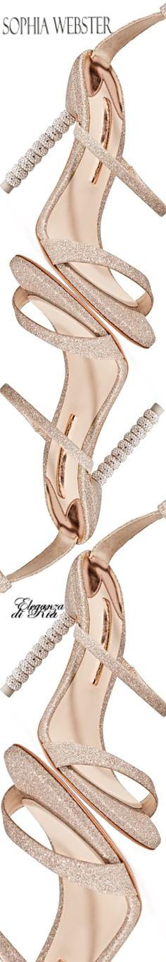#sophiawebster Sophia Webster #spiral #heel #rosegold #sandal #eleganzadiria Eleganza di Ria