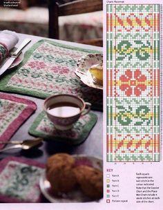 Risultati immagini per knitting borders stranded Fair Isle Knitting Patterns, Fair Isle Pattern, Knitting Charts, Knitting Stitches, Knit Patterns, Cross Stitch Patterns, Knitting Ideas, Etnic Pattern, Fair Isle Chart