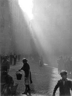 """Plaça de Sant Agusti Velle"", Barcelona, 1946 by Otho Lloyd"