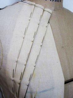 ensemble #1 - pleat detail