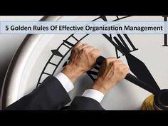 Alan Oviatt - Effective Management Rules For Organizational Growth