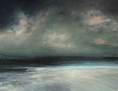 - 2017 Ruth Brownlee - All Rights Reserved (Worldwide) Seascape Paintings, Oil Painting Abstract, Light Painting, Landscape Paintings, Alternative Art, Ocean Art, Contemporary Paintings, Abstract Landscape, Painting Inspiration