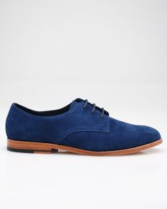 Blue suede shoes...yes please!