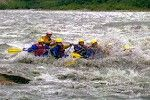 Riding the rapids in Denali River was the wildest thing we have ever done!