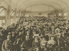 Flinders Street station ballroom early 1900